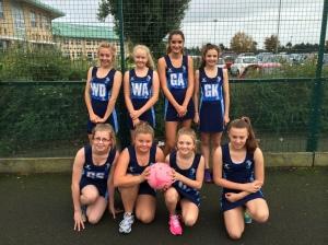 year 8 netball girls